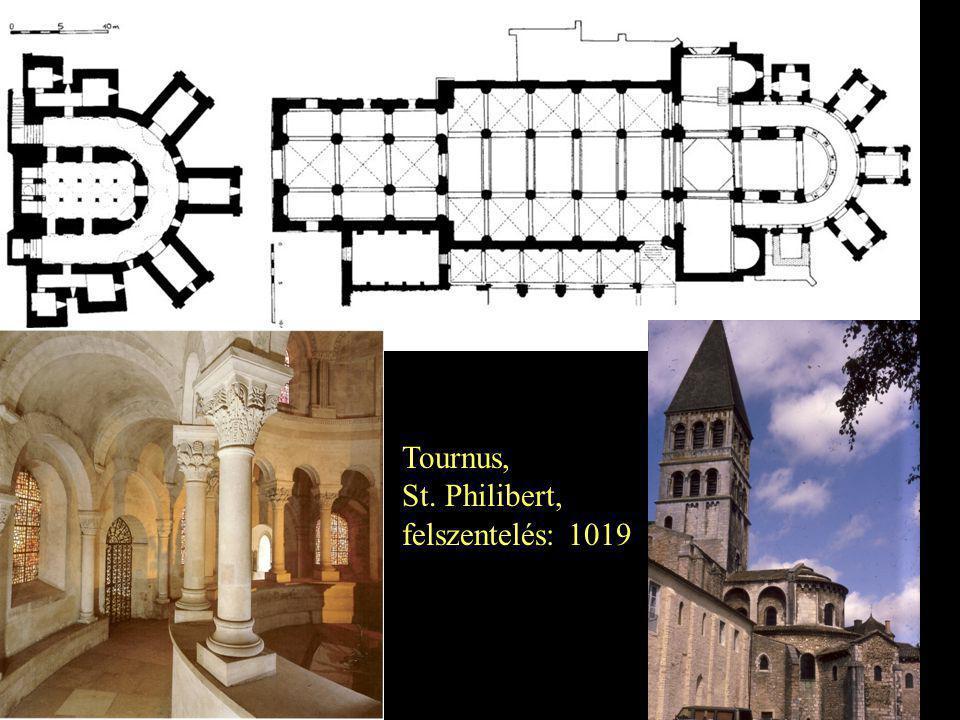 Tournus, St. Philibert, felszentelés: 1019