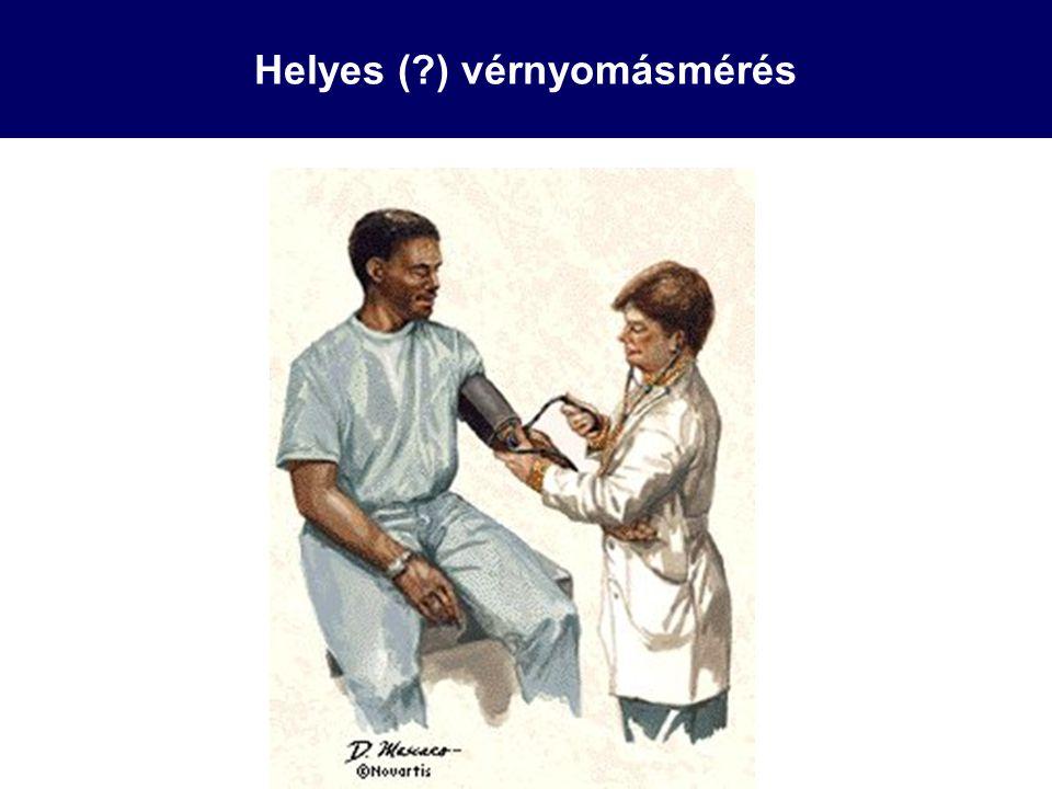 Helyes (?) vérnyomásmérés