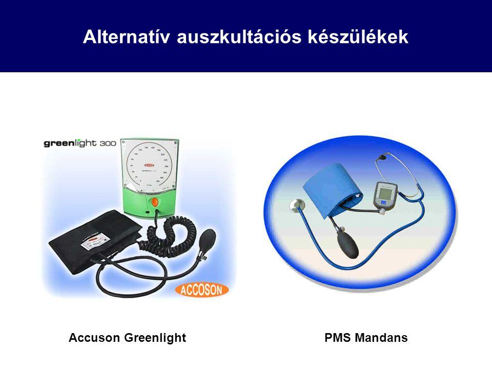 Alternatív auszkultációs készülékek Accuson GreenlightPMS Mandans