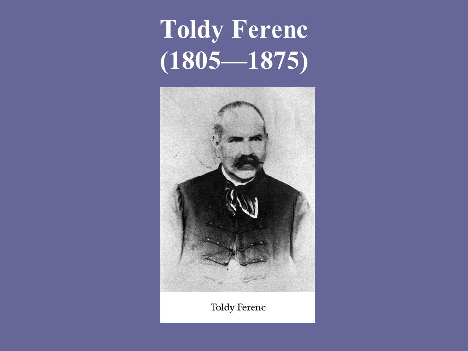 Toldy Ferenc (1805—1875)