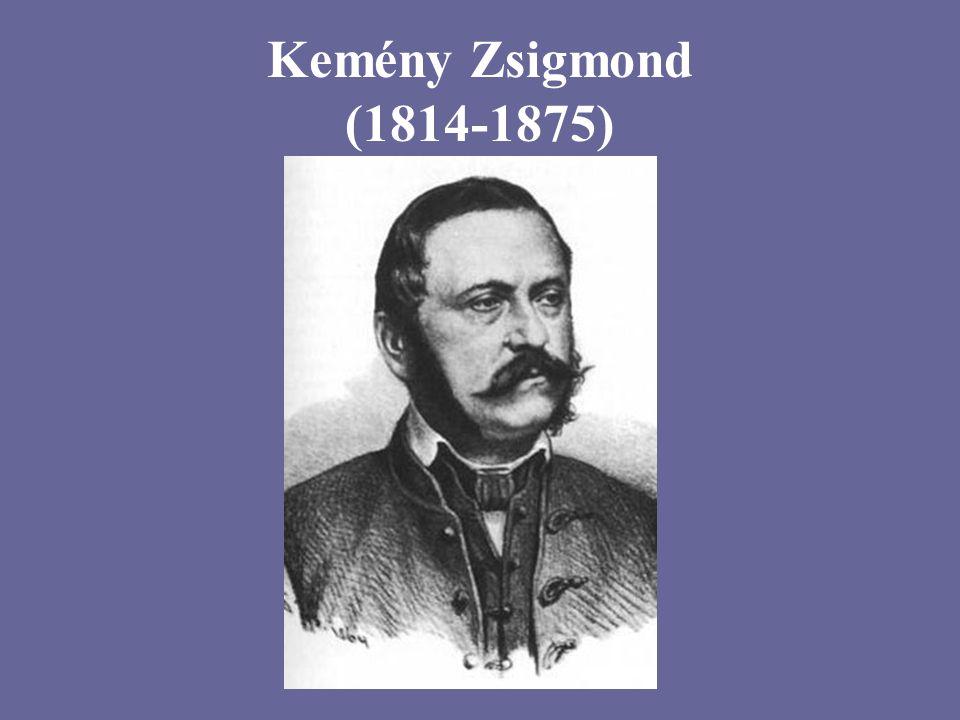 Kemény Zsigmond (1814-1875)