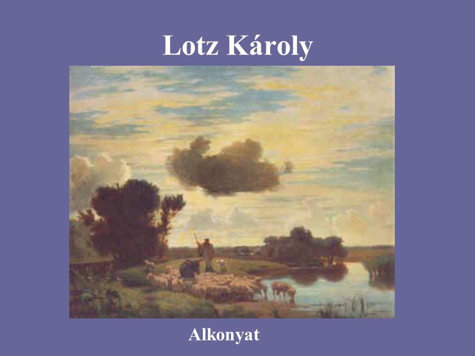 Lotz Károly Alkonyat
