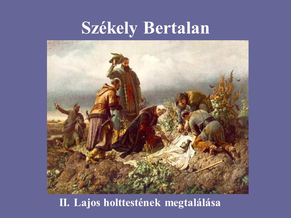 Székely Bertalan II. Lajos holttestének megtalálása