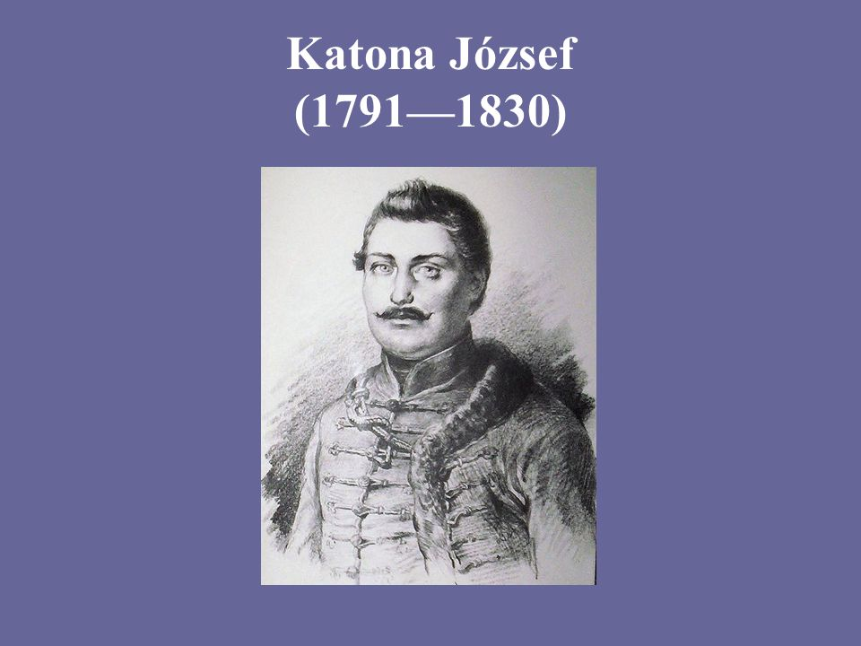 Katona József (1791—1830)