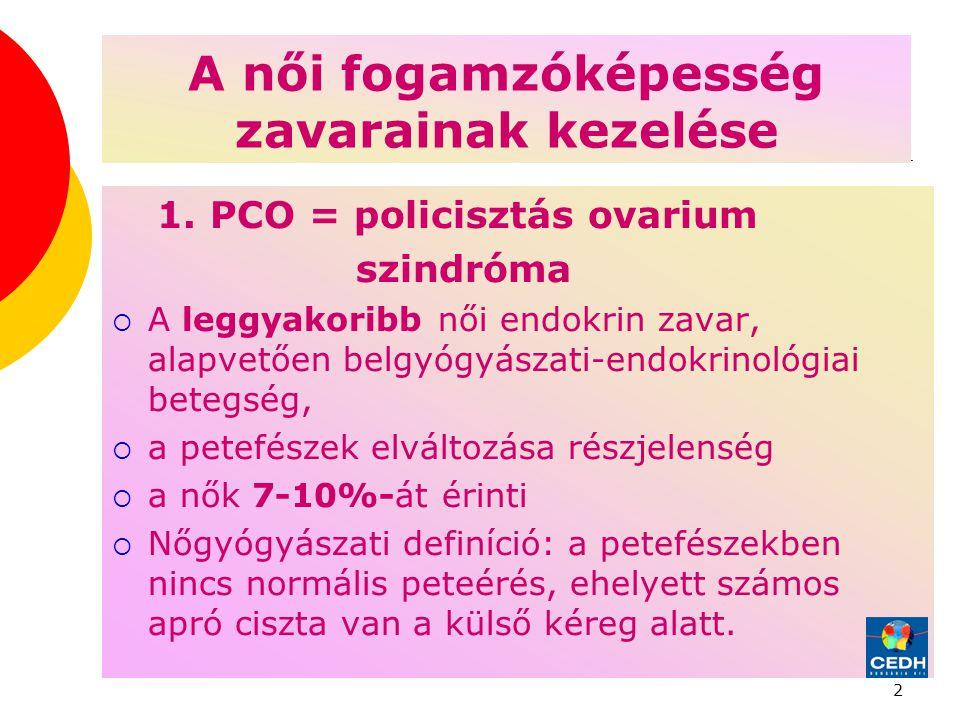 2 A női fogamzóképesség zavarainak kezelése 1.