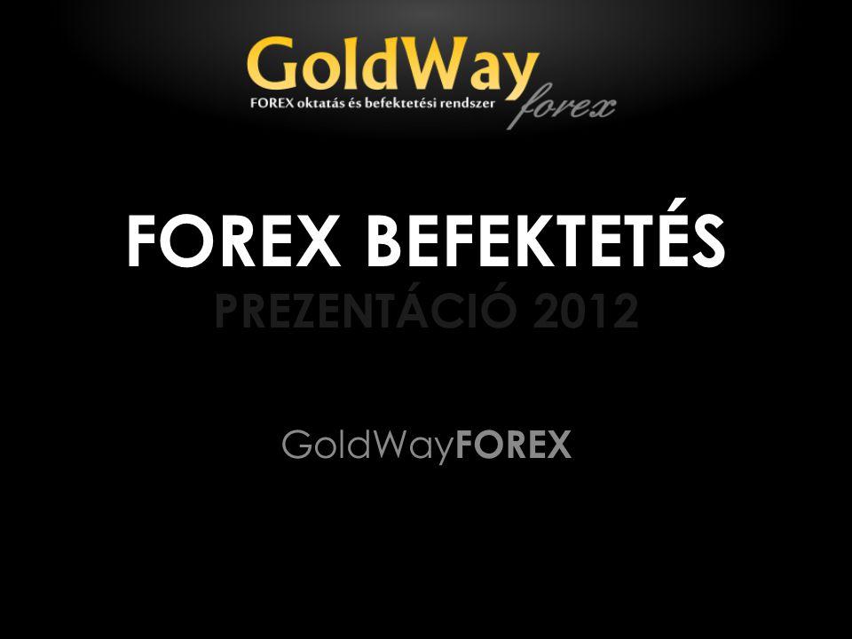 FOREX BEFEKTETÉS PREZENTÁCIÓ 2012 GoldWay FOREX