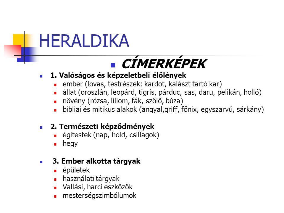 HERALDIKA CÍMERKÉPEK 1.