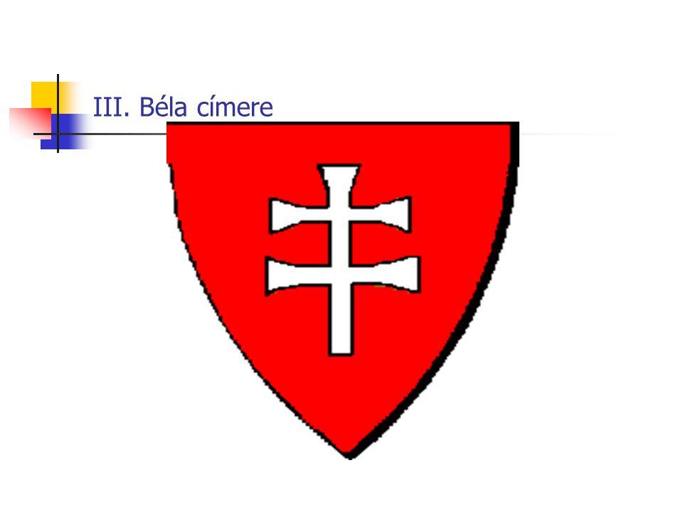 Imre és II. András címere
