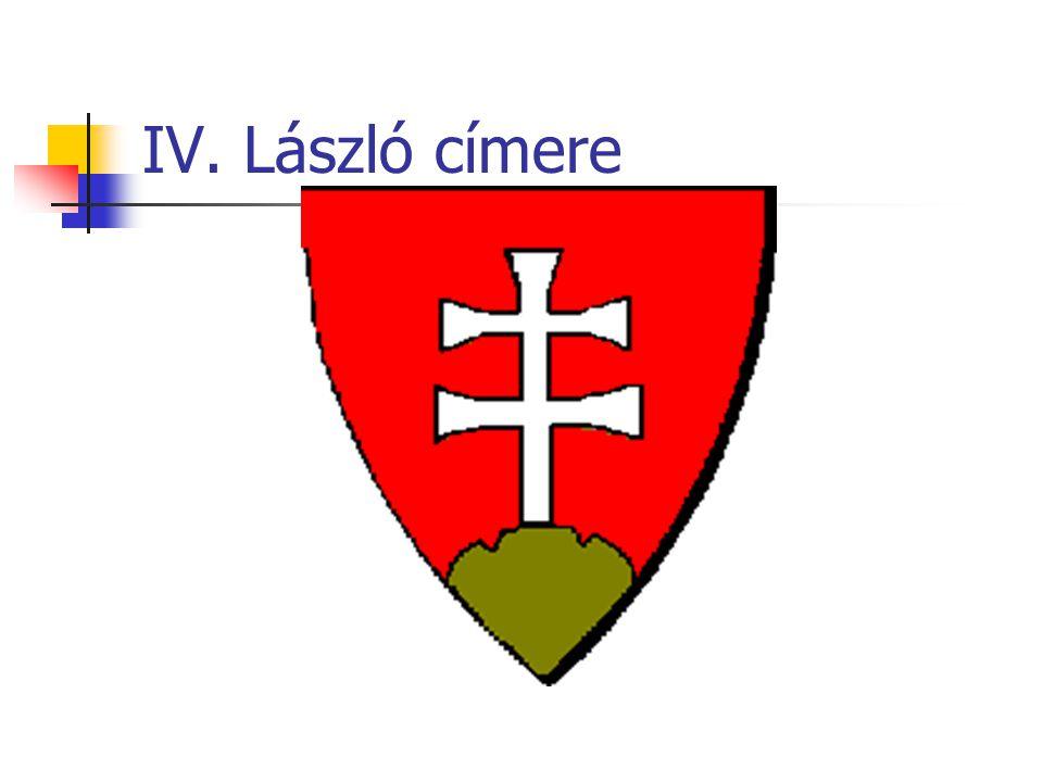 IV. László címere