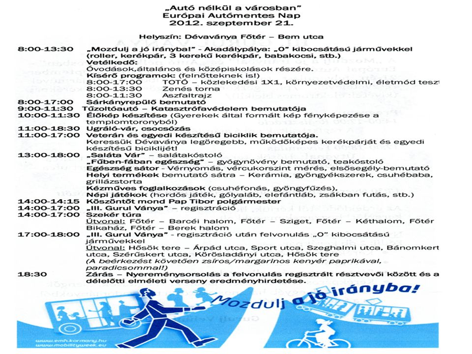 A Nemzeti Fejlesztési Minisztérium koordinációs projekt tervei a 2013.