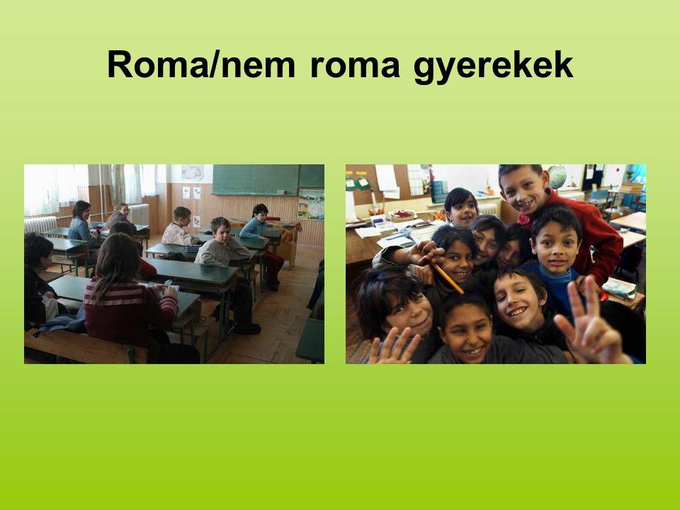 Roma/nem roma gyerekek