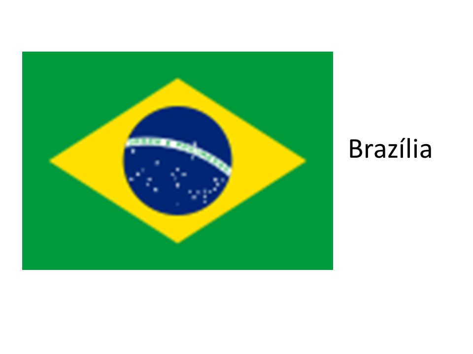 Brazil Szövetségi Köztársaság Terület: 8,5 millió km2 (D-Amerika kb.