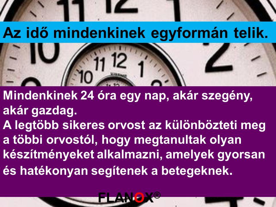 Az idő mindenkinek egyformán telik. Mindenkinek 24 óra egy nap, akár szegény, akár gazdag. A legtöbb sikeres orvost az különbözteti meg a többi orvost