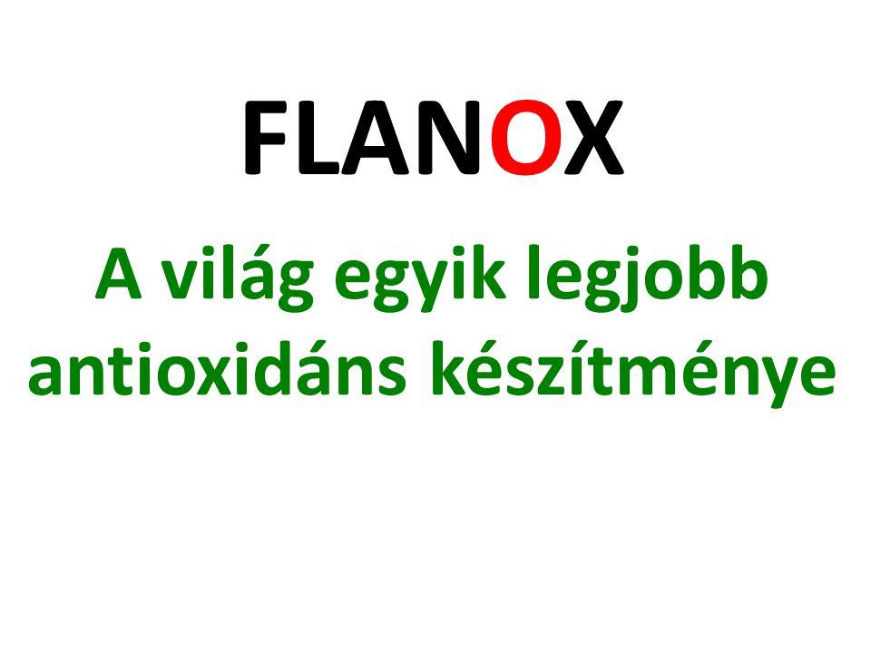A világ egyik legjobb antioxidáns készítménye