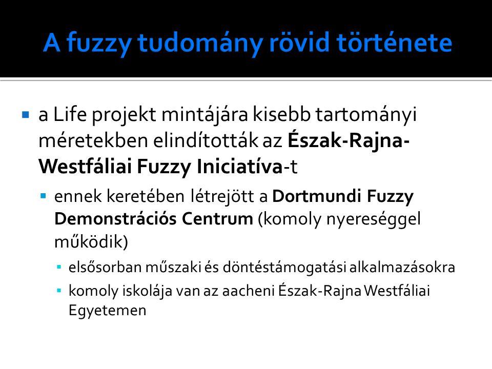  a Life projekt mintájára kisebb tartományi méretekben elindították az Észak-Rajna- Westfáliai Fuzzy Iniciatíva-t  ennek keretében létrejött a Dortm