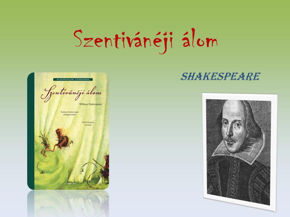 Szentivánéji álom Shakespeare