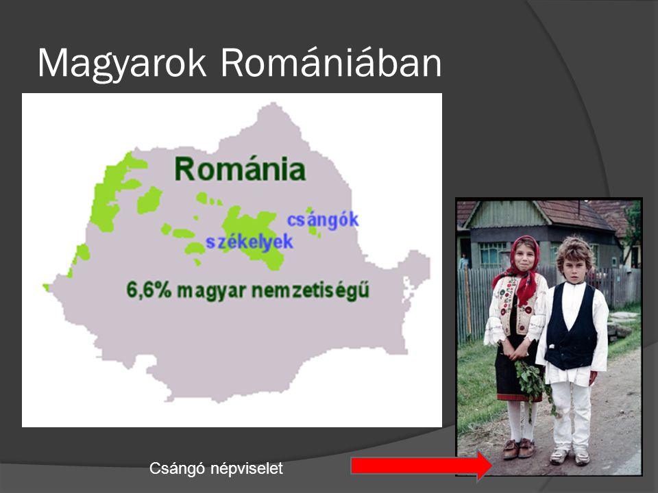 Magyarok Romániában Csángó népviselet