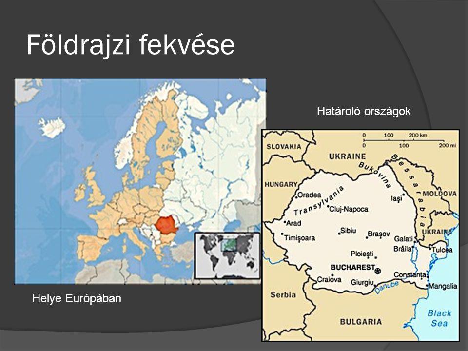 Földrajzi fekvése Helye Európában Határoló országok