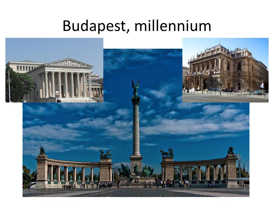 Budapest, millennium