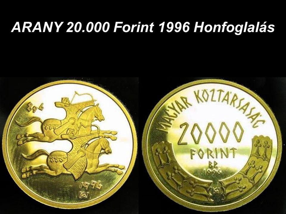 ARANY 5000 Forint 1990 Mátyás Király