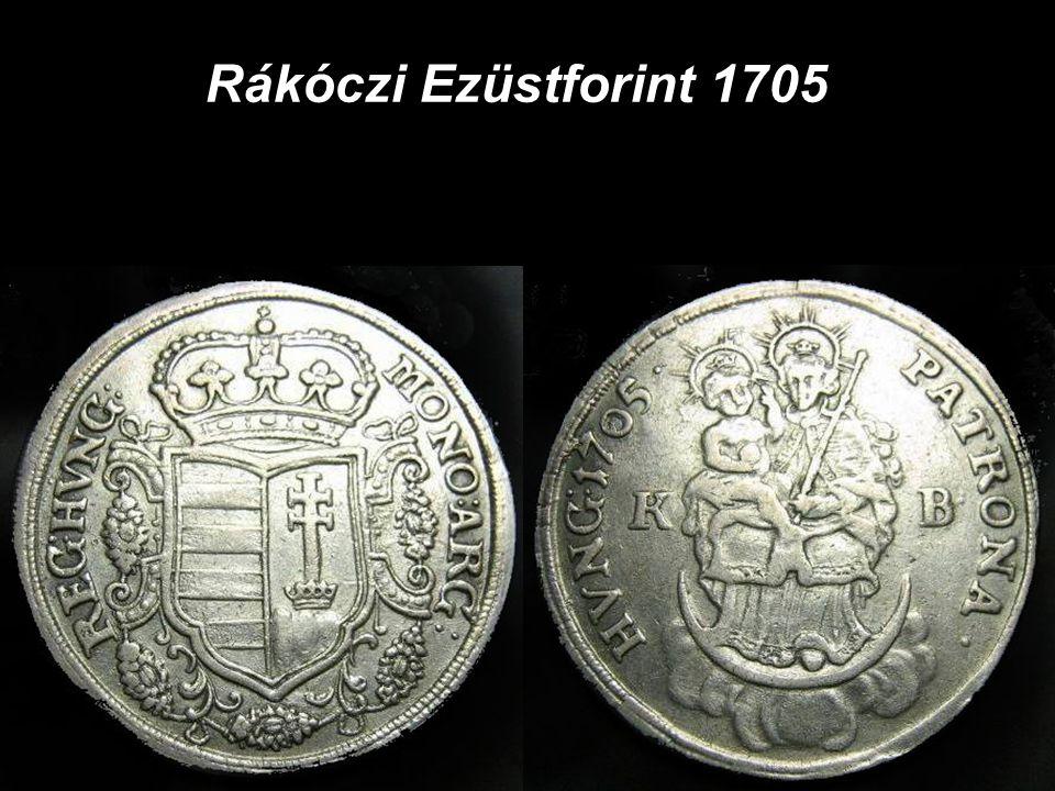 Rákóczi Ezüstforint 1705