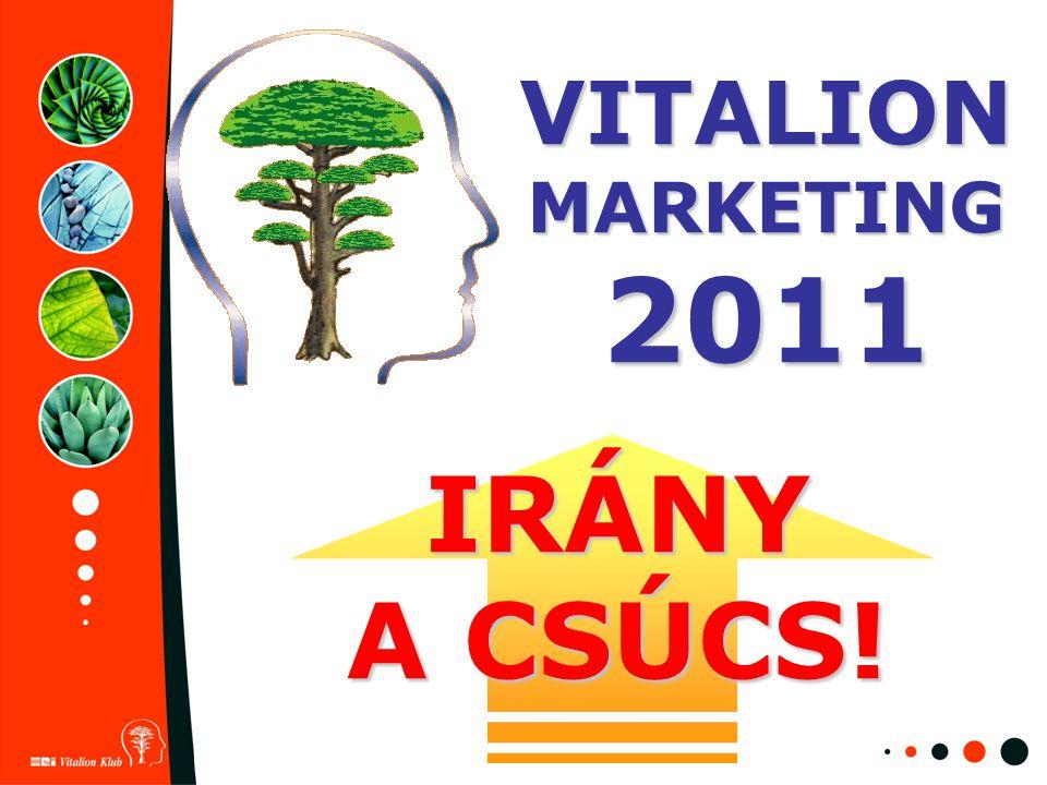 IRÁNY A CSÚCS! VITALION MARKETING 2011