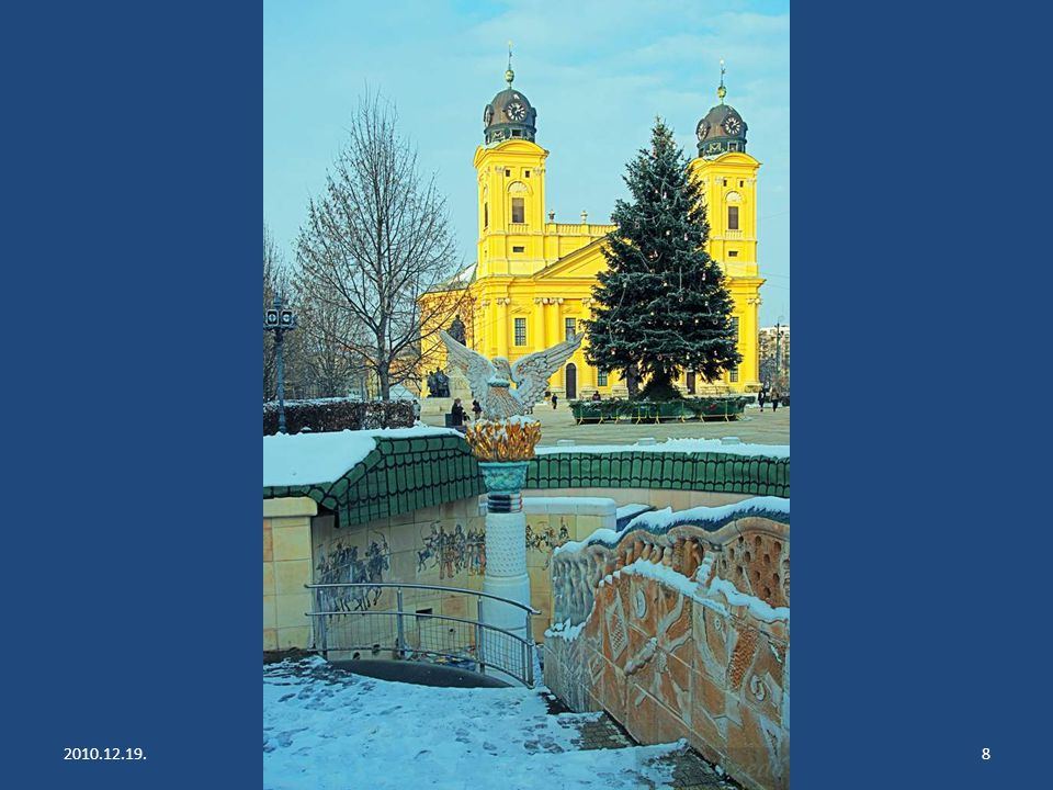 2010.12.19.Debrecen - Hajduszoboszló (- 4 C)18 Hajduszoboszló - Gyógyfürdő További diasorozataim: http://www.qsl.net/hg5acx/pps1.htm Írd meg a véleményed: E-mail E-mail