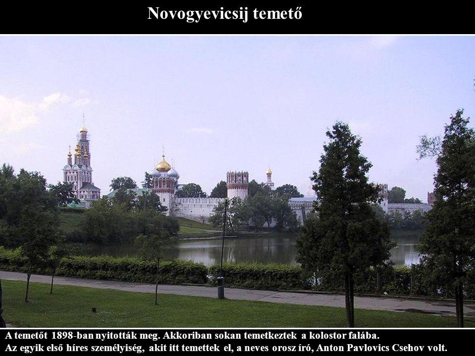 Szolovetszkij kolostor A Szolovetszkij szigeteken a Fehér-tengernél épült.