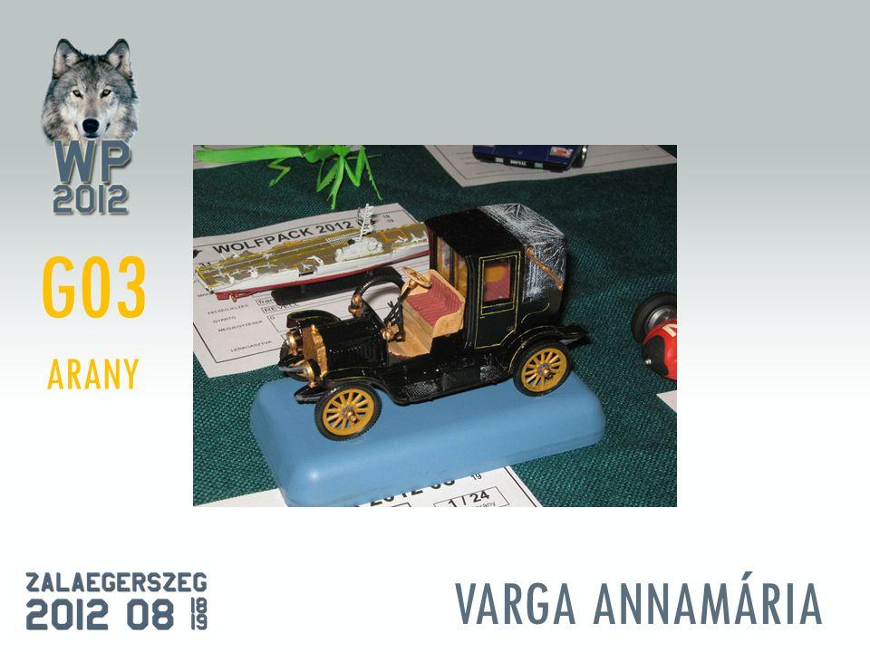 VARGA ANNAMÁRIA G03 ARANY