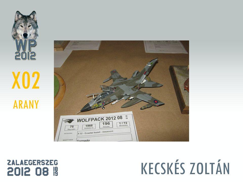 KECSKÉS ZOLTÁN X02 ARANY