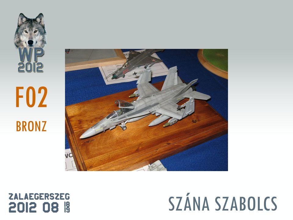 SZÁNA SZABOLCS F02 BRONZ
