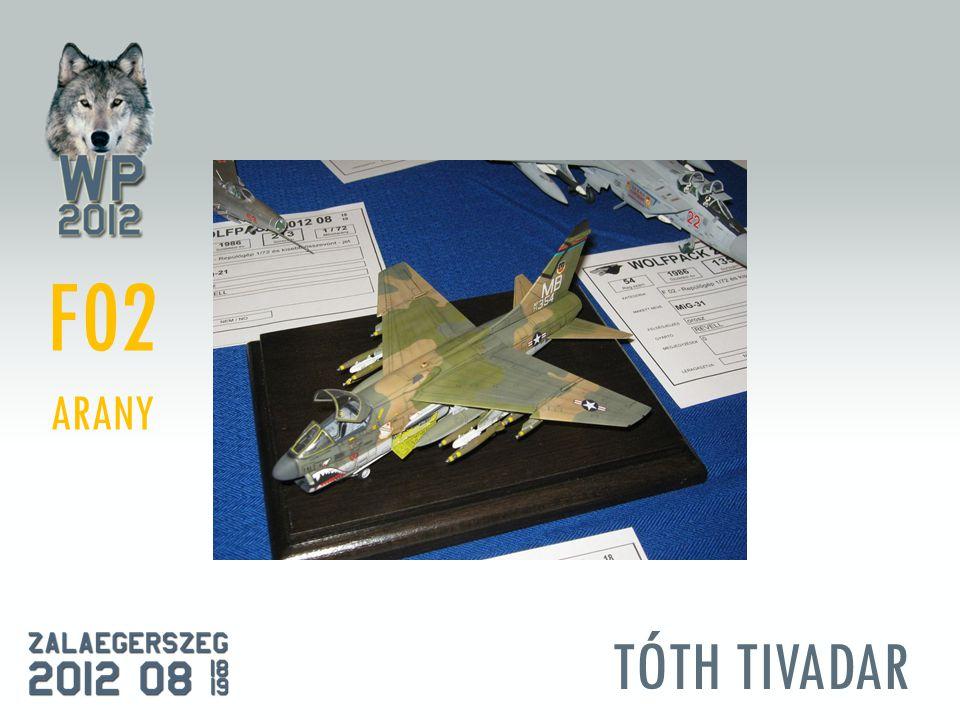 TÓTH TIVADAR F02 ARANY
