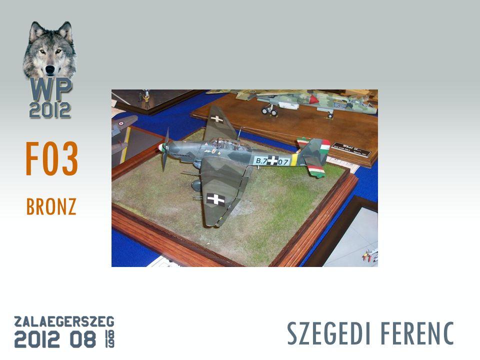 SZEGEDI FERENC F03 BRONZ