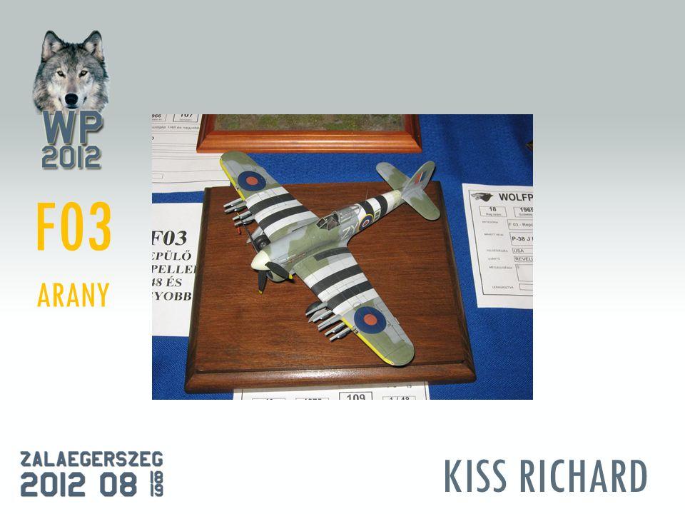 KISS RICHARD F03 ARANY