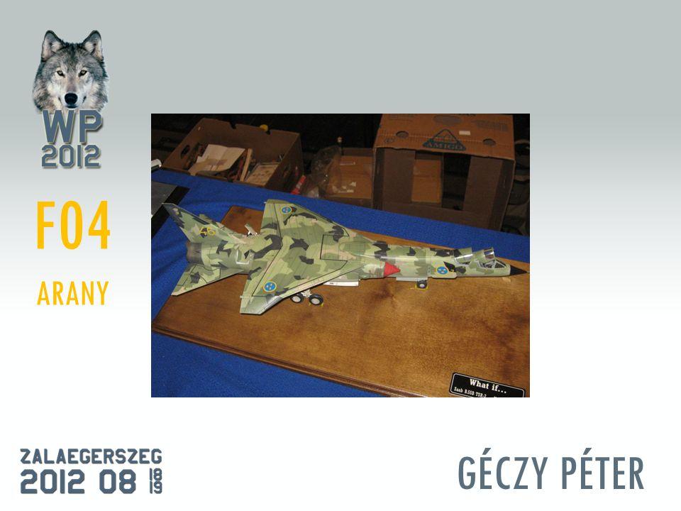 GÉCZY PÉTER F04 ARANY