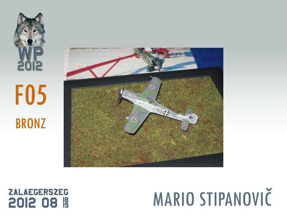 MARIO STIPANOVIČ F05 BRONZ