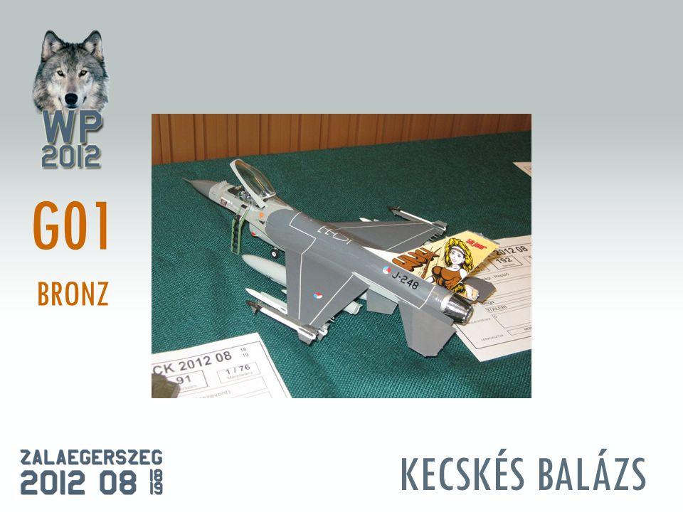 KECSKÉS BALÁZS G01 BRONZ