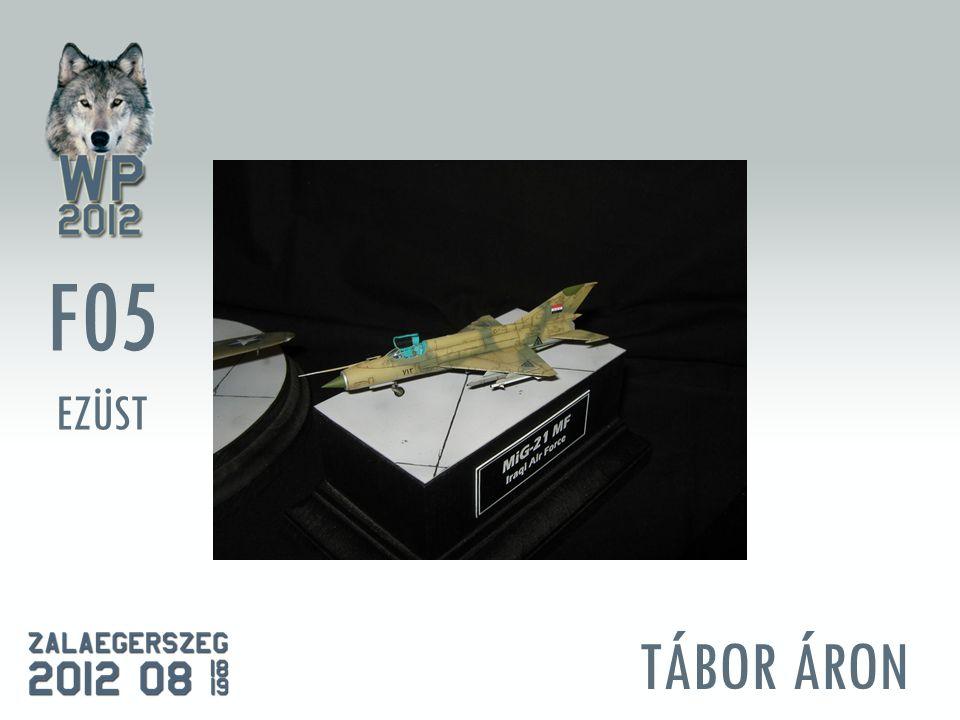 TÁBOR ÁRON F05 EZÜST