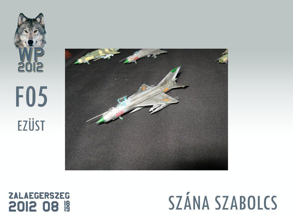 SZÁNA SZABOLCS F05 EZÜST
