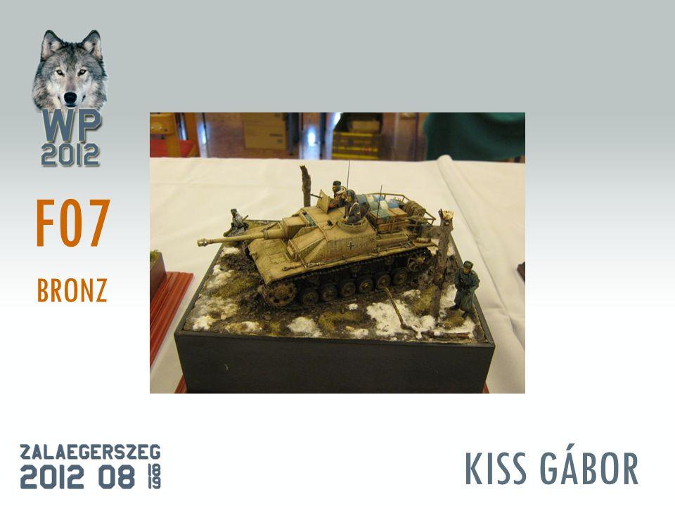 KISS GÁBOR F07 BRONZ
