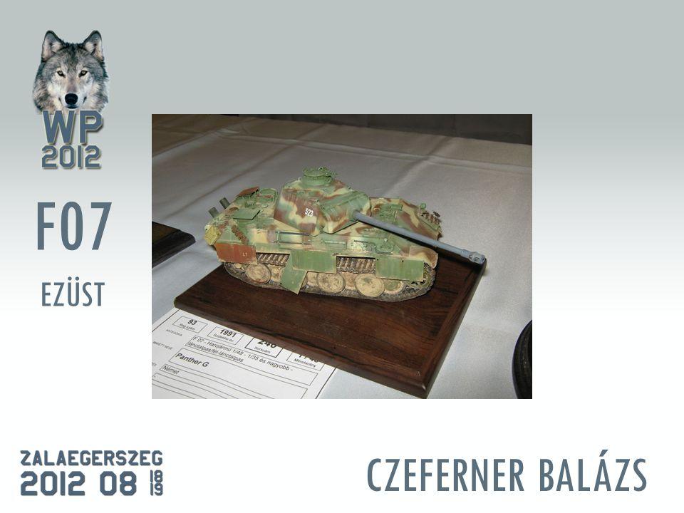 CZEFERNER BALÁZS F07 EZÜST