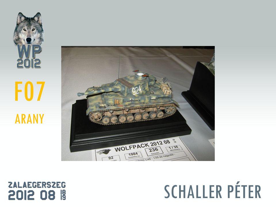 SCHALLER PÉTER F07 ARANY