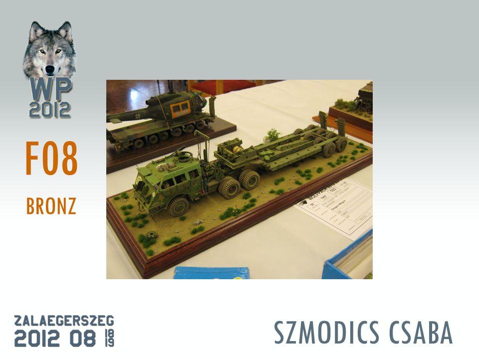 SZMODICS CSABA F08 BRONZ