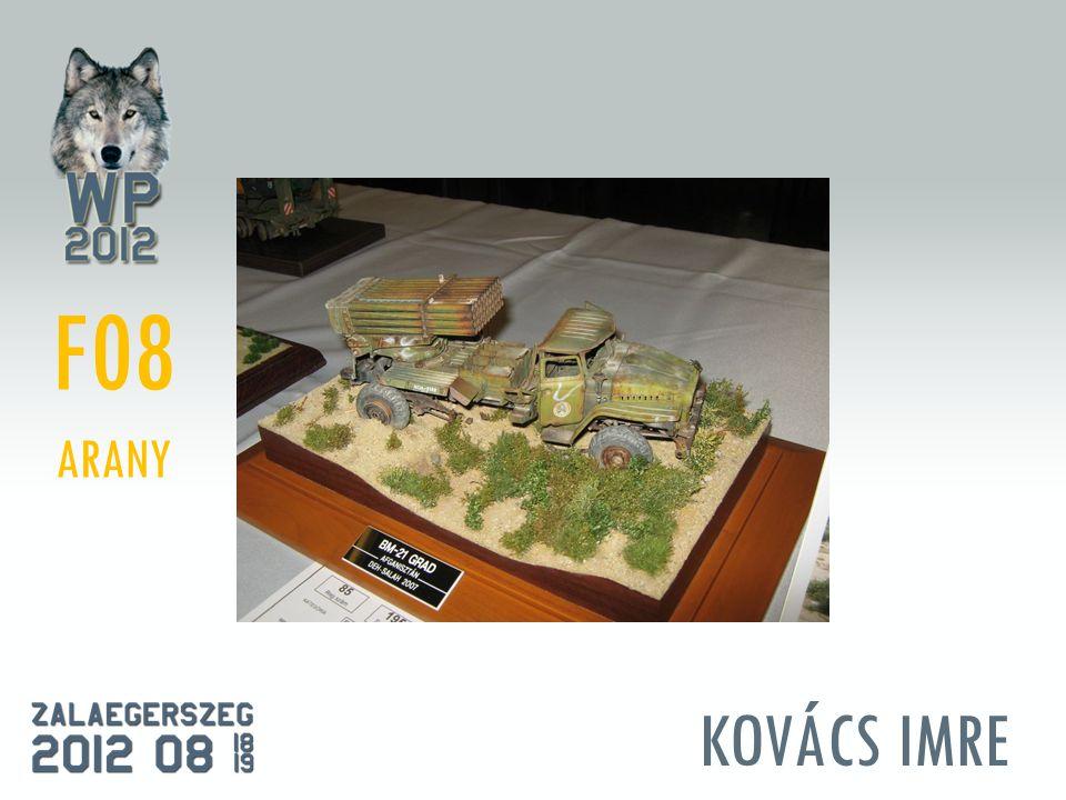 KOVÁCS IMRE F08 ARANY