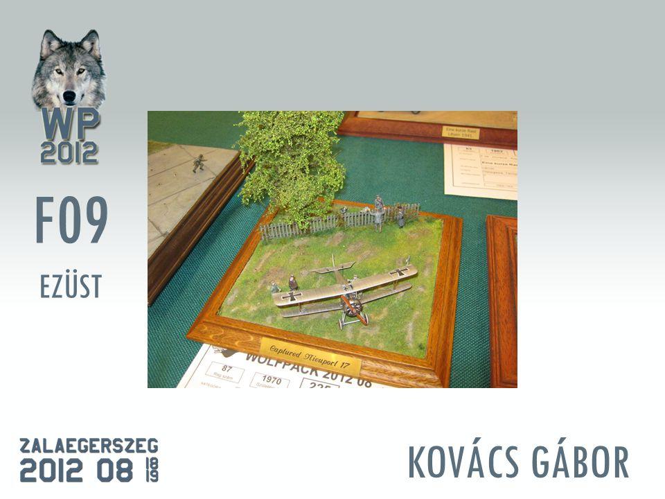 KOVÁCS GÁBOR F09 EZÜST