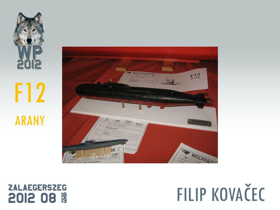 FILIP KOVAČEC F12 ARANY