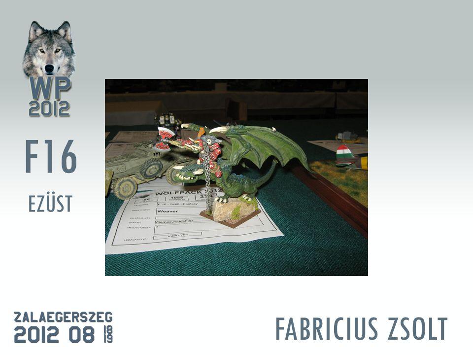 FABRICIUS ZSOLT F16 EZÜST
