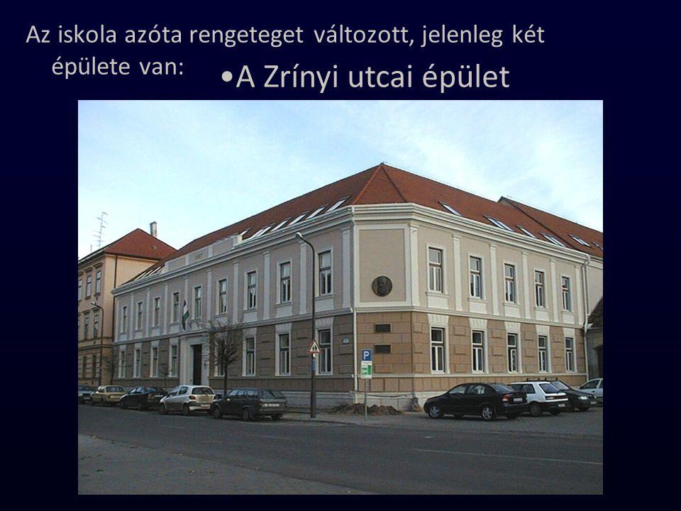 A Rákóczi utcai épület.