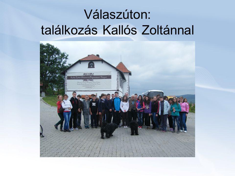 Válaszúton: találkozás Kallós Zoltánnal