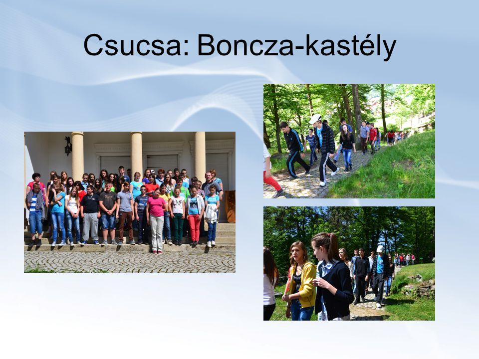 Csucsa: Boncza-kastély